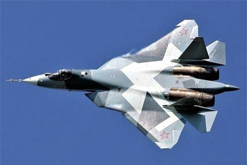 Tiêm kích đa nhiệm Su-57; Nguồn: wikipedia.org