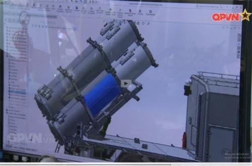 Hệ thống tên lửa phòng thủ bờ biển do Việt Nam tự phát triển. Ảnh: QPVN