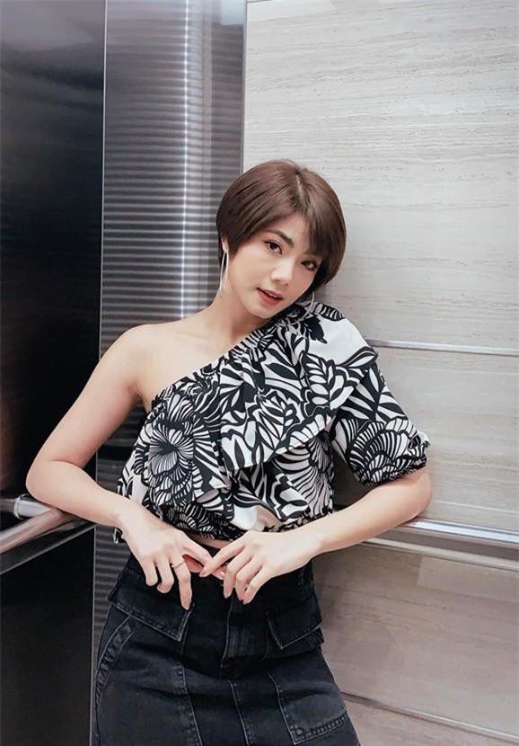 Đàm Phương Linh được cho là bạn gái tin đồn của Tim.