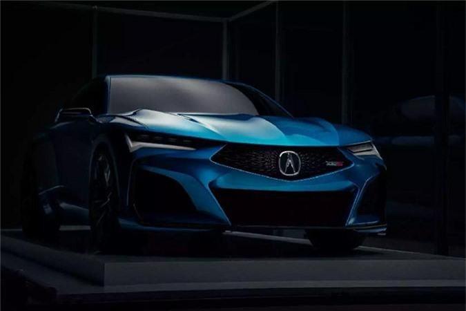 Ra mat Acura Type S sedan moi - doi thu Mercedes-AMG C43-Hinh-3