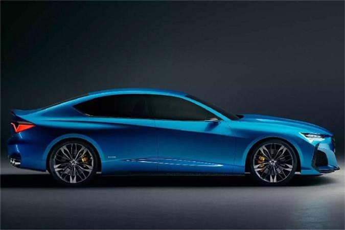 Ra mat Acura Type S sedan moi - doi thu Mercedes-AMG C43-Hinh-6