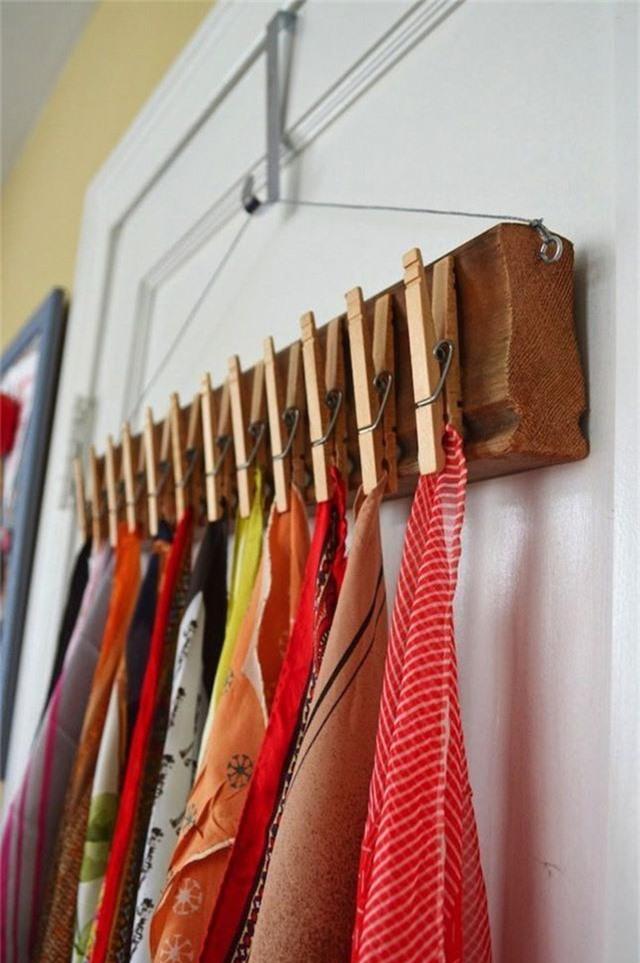 Những giải pháp lưu trữ quần áo sáng tạo dành riêng cho không gian nhỏ  - Ảnh 2.