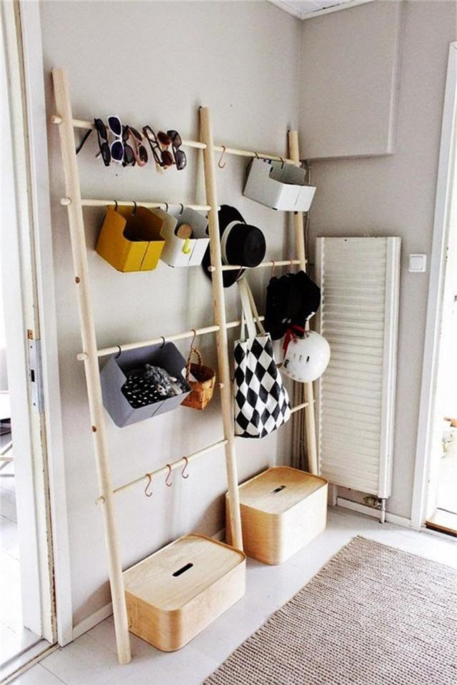 Những giải pháp lưu trữ quần áo sáng tạo dành riêng cho không gian nhỏ  - Ảnh 5.