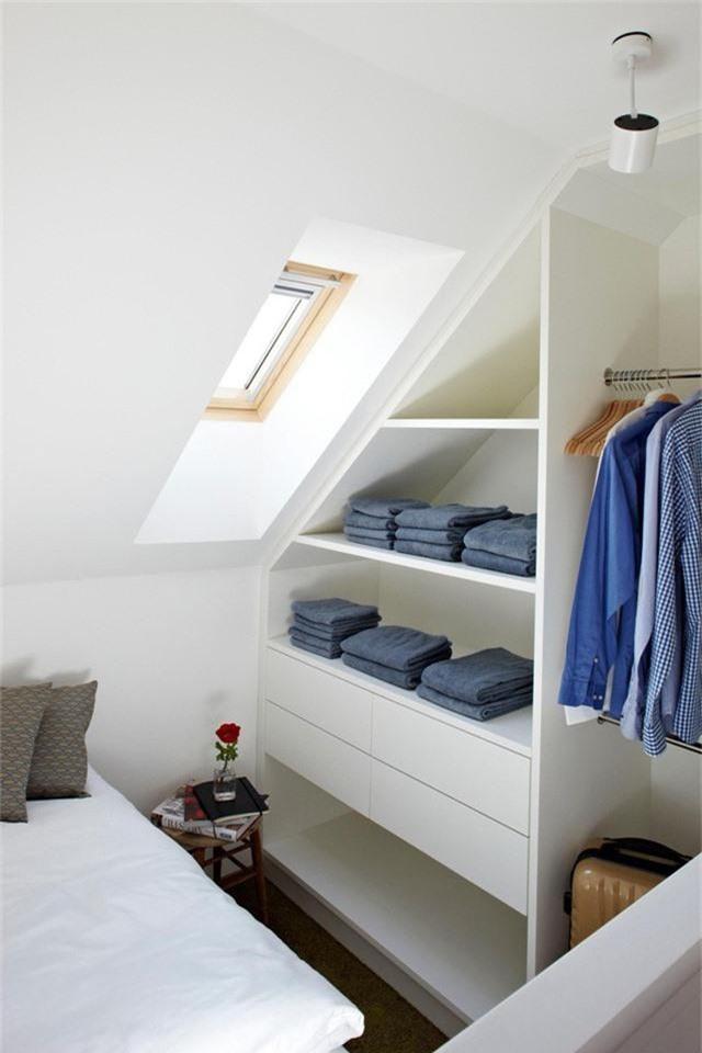 Những giải pháp lưu trữ quần áo sáng tạo dành riêng cho không gian nhỏ  - Ảnh 8.