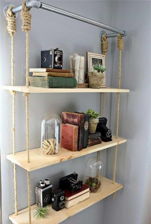 Những thiết kế kệ treo tường để đồ vật nhỏ xinh dành riêng cho những ai thích phong cách vintage - Ảnh 11.