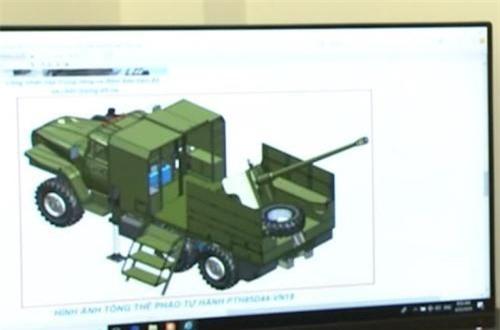 Pháo tự hành PTH85D44-VN18 do xí nghiệp Z751 thiết kế và sản xuất sử dụng khung gầm xe vận tải việt dã 6x6 bánh Ural-375 kết hợp với pháo chống tăng 85mm D44. Cả hai loại này đều do Liên Xô (cũ) sản xuất. Các hình ảnh trong phóng sự 11/8 của kênh QPVN cho thấy thùng hàng của Ural-375D được thay thế bằng sàn công tác lắp bệ pháo D44 85mm, cùng một cabin nhỏ phía trước có thể là nơi chứa đạn dược. Ảnh: QPVN