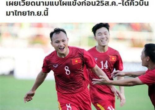 Một vài trụ cột của đội tuyển Việt Nam dính chấn thương trước thềm trận đấu với Thái Lan