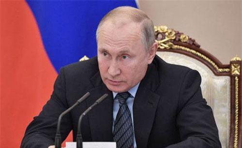 Tổng thống Putin. Ảnh: Sputnik.