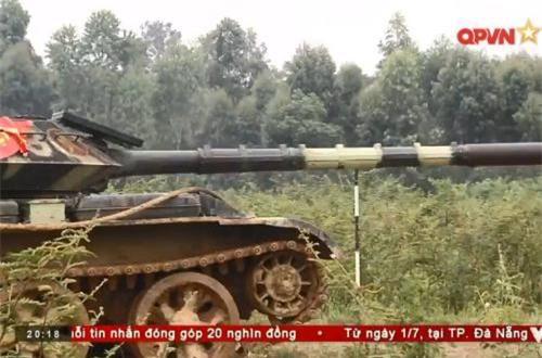 Vũ khí phụ của xe tăng vẫn sẽ bao gồm súng máy PKT 7,62mm đồng trục pháo chính và… Ảnh: QPVN