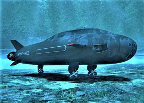 """""""Tàu ngầm bò sát"""" SMX-26; Nguồn ảnh: defence.pk"""