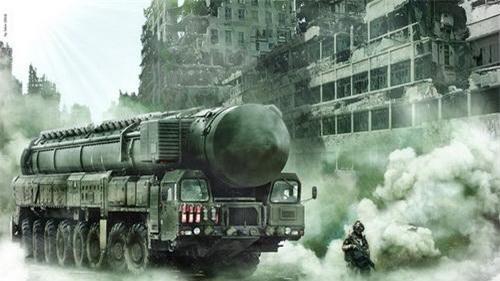 Tên lửa đạn đạo liên tục địa RS-12 Topol của Nga. Ảnh: Defence Blog.