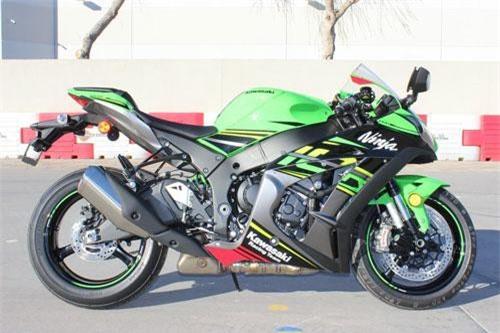 4. Kawasaki Ninja ZX-10R KRT 2019 (giá khởi điểm: 18.199 euro).