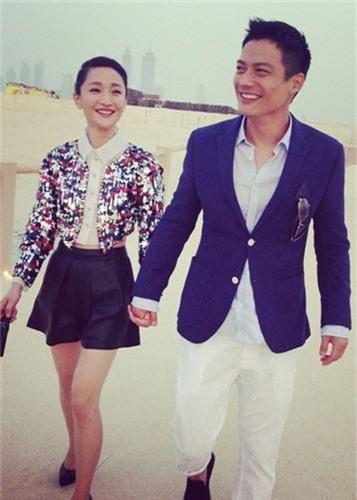 Anh ngot ngao cua Chau Tan ben chong truoc tin don ly hon-Hinh-14
