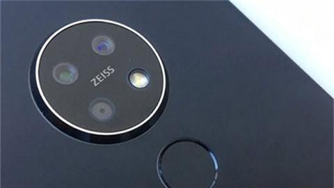 Nokia 7.2 tiếp tục lộ diện với camera tròn ống kính Zeiss, pin 3500mAh