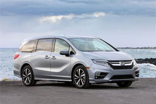 5. Honda Odyssey 2019 (giá khởi điểm: 30.190 USD).