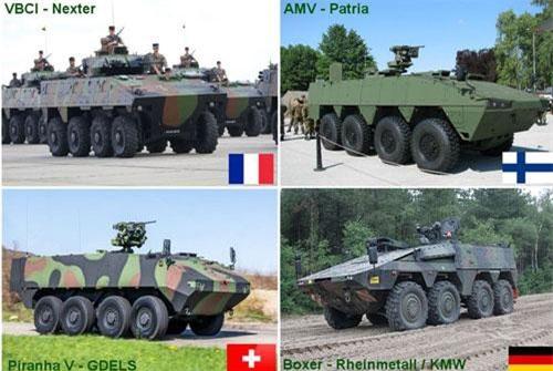 Theo tạp chí Army Recognition, Bộ Quốc phòng Bulgaria sau cùng đã tung ra gói thầu mua 150 xe bọc thép chở quân thế hệ mới cho lực lượng vũ trang. Quốc gia này hiện đã gửi thư mời thầu tới 4 công ty nổi tiếng của phương Tây gồm: Rheinmetall - Krauss - Maffei Wegmann (Đức); Nexter (Pháp); Patria (Phần Lan) và General Dynamics European Land Systems (GDELS). Nguồn ảnh: Army Recognition