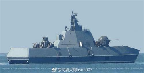 Tàu tên lửa tấn công nhanh thế hệ mới của Hải quân Triều Tiên. Ảnh: Sina.