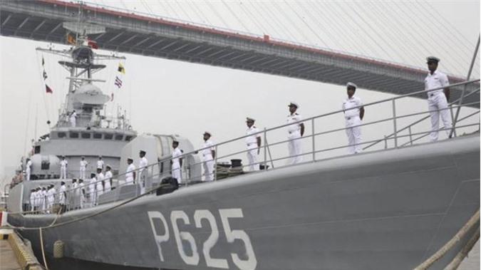 Tàu chiến mới của Bangladesh. Ảnh: Jane's