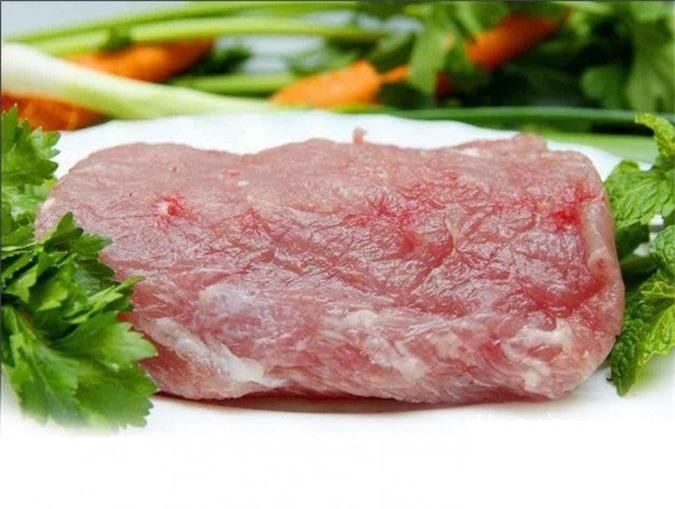 Thịt nạc giúp thai nhi phát triển chiều cao