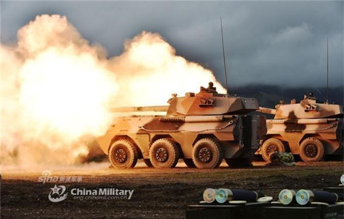 Phao tu hanh PTL-02 chong tang voi co nong 100mm nhu