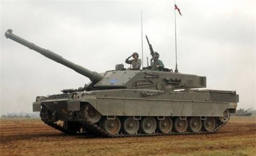 Xe tăng chiến đấu chủ lực C1 Ariete. Ảnh: Military Today.