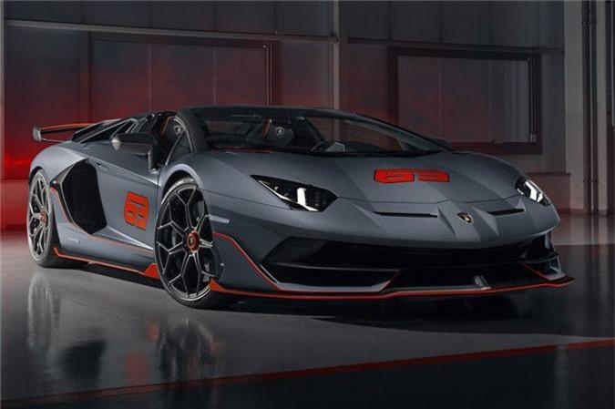 Lamborghini Aventador SVJ 63 Roadster. Ảnh: Netcarshow.