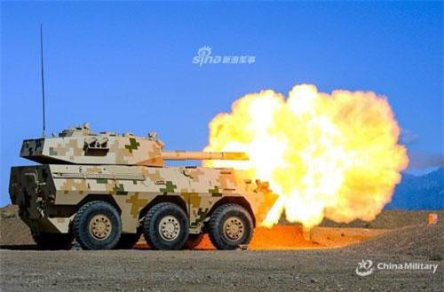 Khẩu pháo tự hành chống tăng của Trung Quốc mang tên PTL-02 đã ra đời từ những năm đầu của thập niên 2000 và tới khoảng năm 2004, khẩu pháo tự hành này được gia nhập vào biên chế của Quân đội Trung Quốc. Nguồn ảnh: Sina.