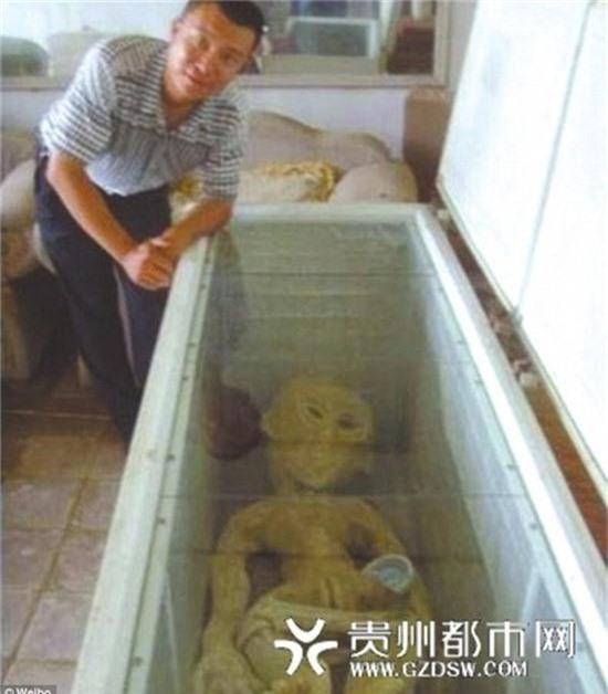 Sự thật về xác người ngoài hành tinh bị cháy xém ở Trung Quốc 1