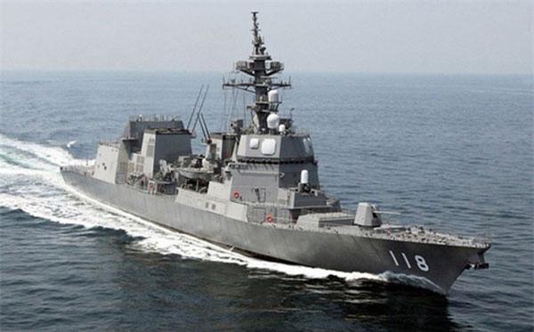 Khu trục hạmNhật Bản được đánh giá là một trong những chiến hạm mạnh nhất thế giới