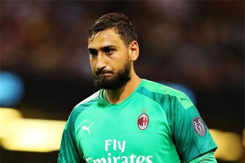 9. Gianluigi Donnarumma (AC Milan, mức lương 195.000 bảng/tuần).