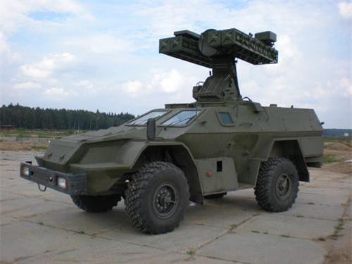 BPM-97 với cấu hình mang tên lửa phòng không Strela 10. Ảnh: Military Today.