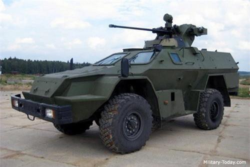 Xe thiết giáp chở quân BPM-97 của Lực lượng Biên phòng Nga. Ảnh: Military Today.