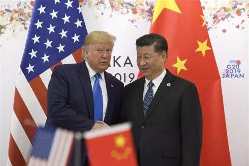 Tổng thống Mỹ Donald Trump và Chủ tịch Trung Quốc Tập Cận Bình. (Ảnh: AP)
