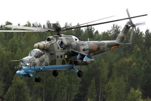 Một chiếc Mi-24PN của Không quân Nga. Ảnh: TASS.
