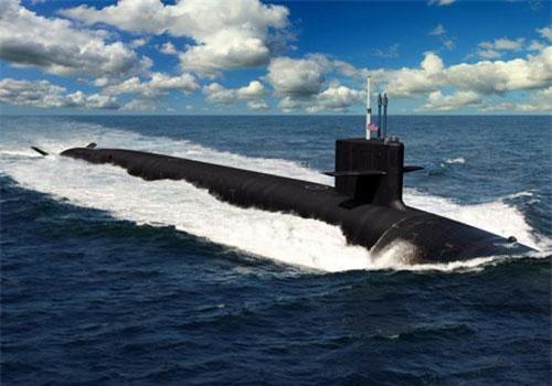 Đầu tiên phải kể đến lớp tàu ngầm Colombia. Đây là loại tàu ngầm dự kiến sẽ được sử dụng để thay thế cho các tàu ngầm lớp Ohio trong tương lai. Dự kiến chiếc Colombia đầu tiên sẽ nhận nhiệm vụ vào năm 2031 và chiếc này sẽ mang tên Colombia như truyền thống của Hải quân Mỹ - chiếc đầu tiên của bất cứ lớp tàu nào sẽ mang tên của chính lớp đó. Nguồn ảnh: BI.