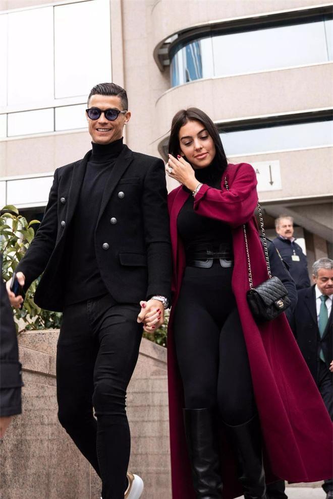 Người ta gọi Ronaldo, Georgina là một cặp trời sinh.