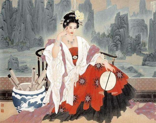 Nhắc đến Dương Quý Phi, nhiều người sẽ nghĩ ngay đến vẻ đẹp tuyệt sắc, tài năng múa hát xuất sắc cũng như chuyện tình của bà với Đường Huyền Tông mà ít ai biết tới người chồng đầu tiên của Dương Quý Phi là Thọ Vương Lý Mạo- con trai của Đường Huyền Tông. Ảnh: baidu.com.
