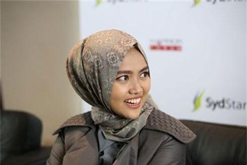 Diajeng Lestari được xem là tấm gương tiêu biểu của giới trẻ Indonesia