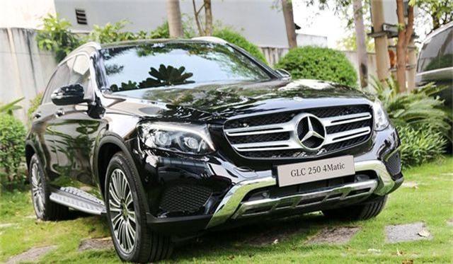 Mercedes GLC 250 bảnh bao, sang trọng.