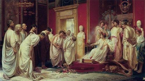 Khi Claudius đi vắng, Messalina thường mở những bữa tiệc sa đọa.