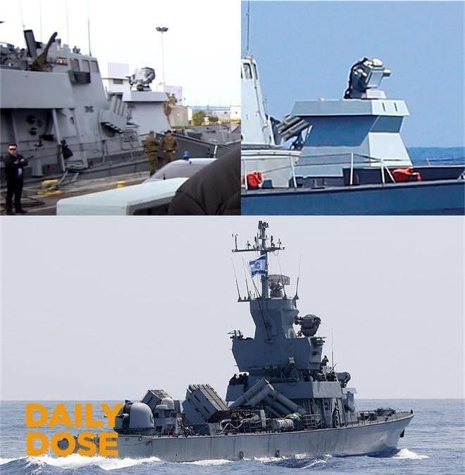 Kinh hoàng trước dàn vũ khí đồ sộ của chiến hạm 500 tấn Israel - Ảnh 2.
