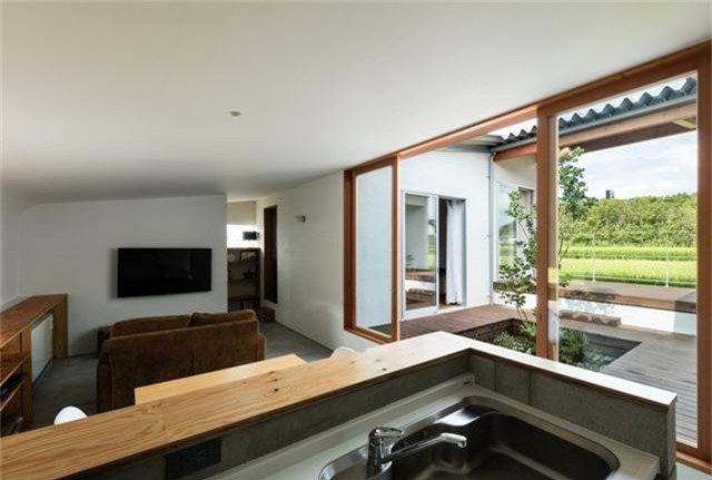 Nhà cấp 4 thiết kế cực tinh tế được xây giữa đồng lúa xanh, khung cảnh vừa đẹp vừa nên thơ - Ảnh 13.