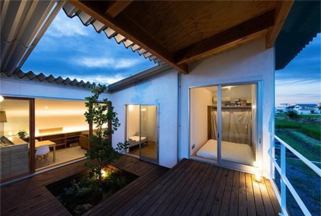 Nhà cấp 4 thiết kế cực tinh tế được xây giữa đồng lúa xanh, khung cảnh vừa đẹp vừa nên thơ - Ảnh 16.