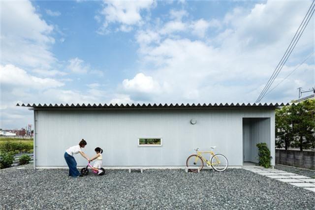 Nhà cấp 4 thiết kế cực tinh tế được xây giữa đồng lúa xanh, khung cảnh vừa đẹp vừa nên thơ - Ảnh 4.