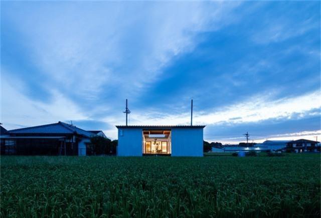 Nhà cấp 4 thiết kế cực tinh tế được xây giữa đồng lúa xanh, khung cảnh vừa đẹp vừa nên thơ - Ảnh 5.