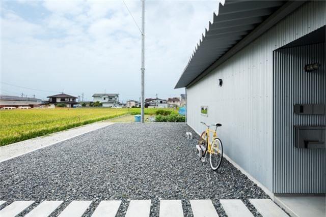Nhà cấp 4 thiết kế cực tinh tế được xây giữa đồng lúa xanh, khung cảnh vừa đẹp vừa nên thơ - Ảnh 8.