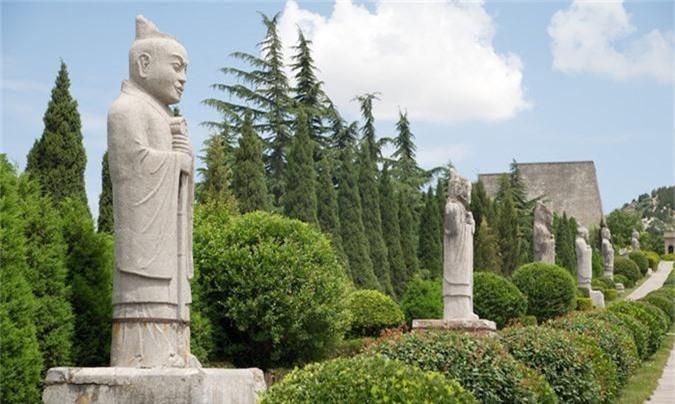 Thực hư 800 tấn kho báu trong lăng mộ nữ hoàng Võ Tắc Thiên - anh 12