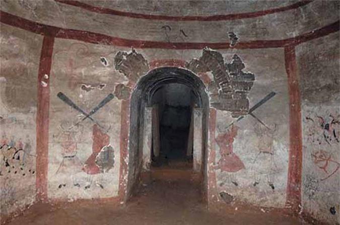 Thực hư 800 tấn kho báu trong lăng mộ nữ hoàng Võ Tắc Thiên - anh 15