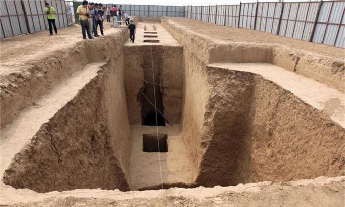 Thực hư 800 tấn kho báu trong lăng mộ nữ hoàng Võ Tắc Thiên - anh 6