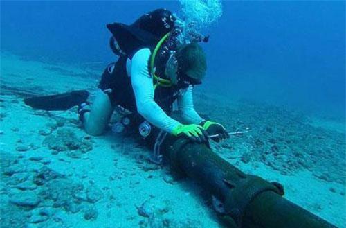 Một tuyến cáp dưới biển. Ảnh: India Today.